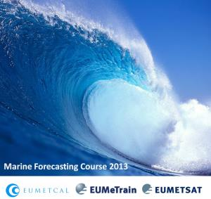 Marine Forecast Course 2013