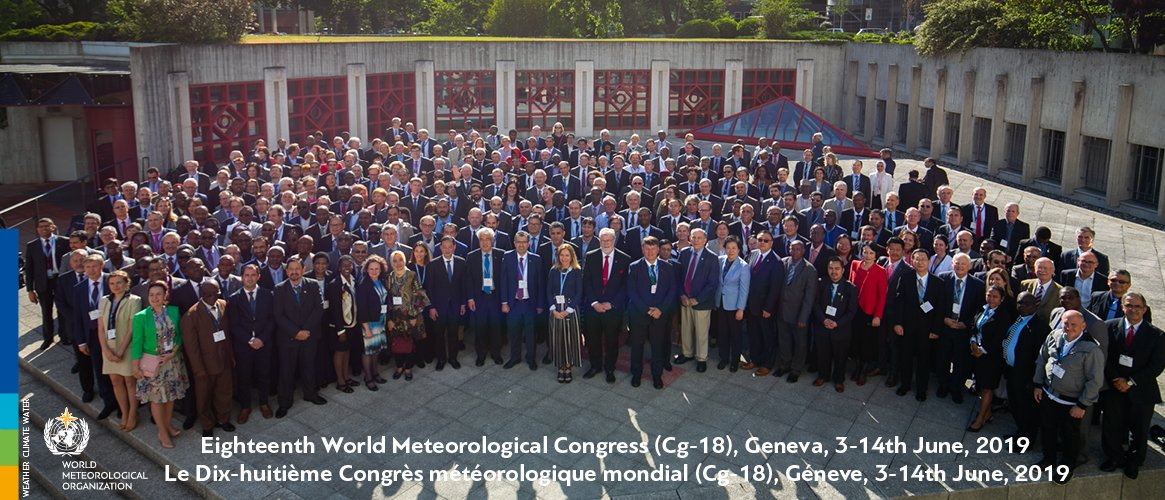 Group photo: World Meteorological Congress - 2019