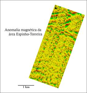 Anomalia magnética da área Espinho-Torreira