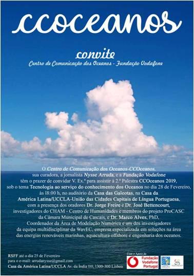 CCOceanos- Convite