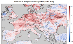 Surface Temperature Anomaly (July 2019)