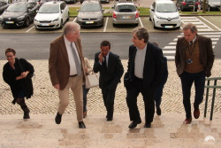 Sea Minister arriving at IPMA´s Headquarters