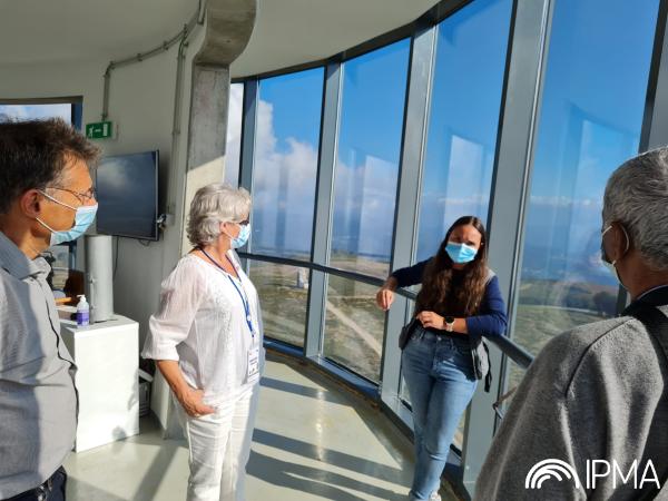 Visita ao Radar Meteorológico de Arouca