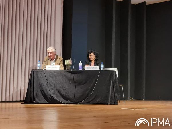 Miguel Miranda, Presidente do IPMA e Margarida Belém, Presidente da Câmara Municipal de Arouca